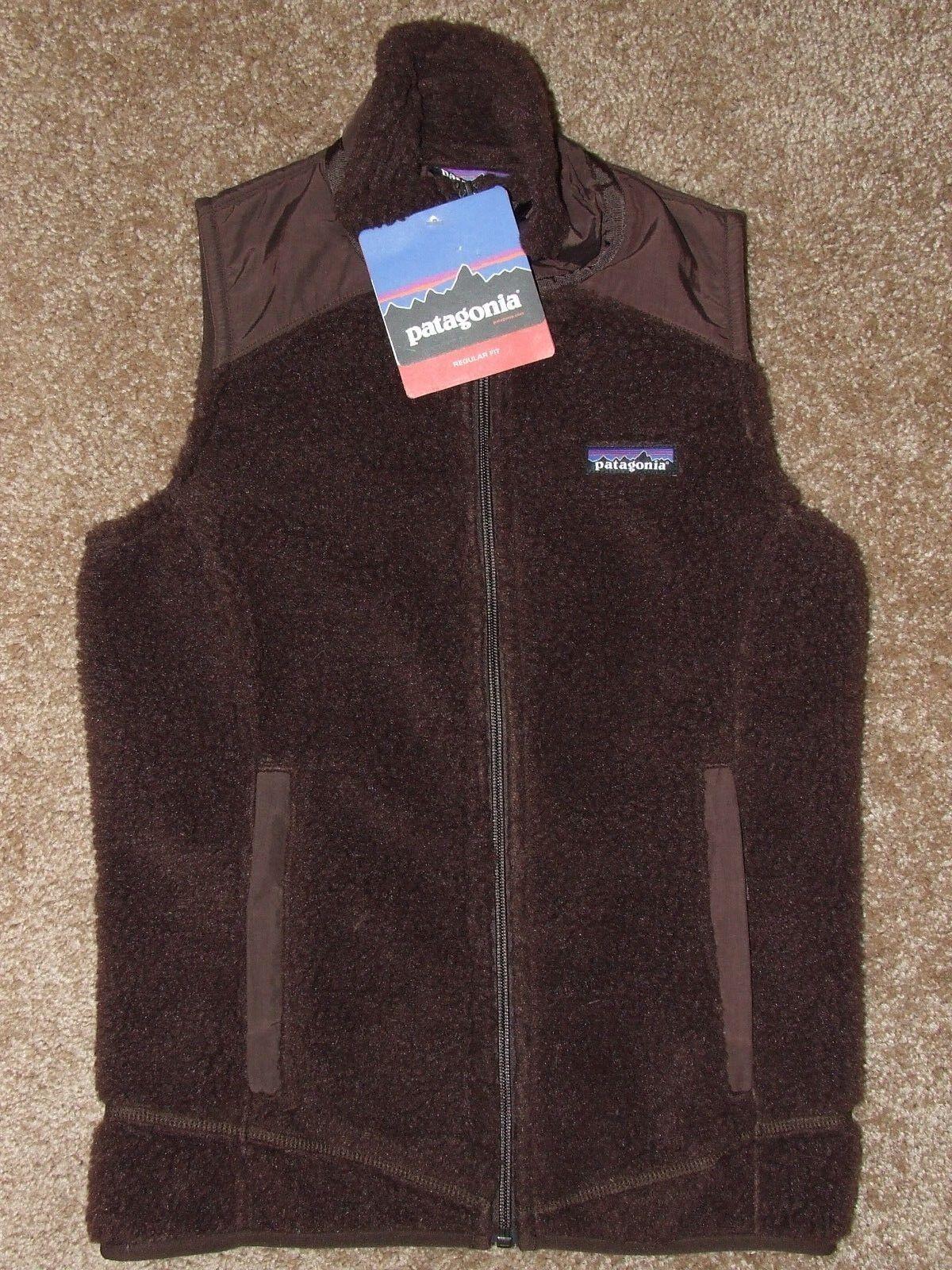 New  Patagonia Women's Classic Retro-X Fleece Pile Vest XS Java Brown
