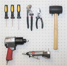 WallPeg 50 ea Quality Locking Peg Hooks, Organize Pegboard Garage Storage Tools