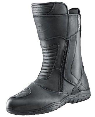 Efficiente Stivali Touring Shack Eroe Taglia 42 Pelle Impermeabile Membrana Nero Nuovo- Buona Conservazione Del Calore