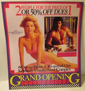 Heather-Locklear-Mark-Gastineau-Steve-Dahl-Bozo-Circus-1988-Flyer