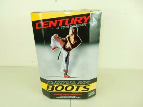 Century Martial Arts Student Black Training Sparring Boots 112P