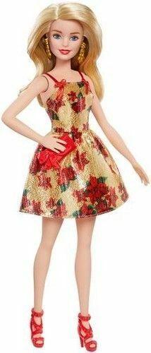 2017 Barbie Christmas Holiday Doll