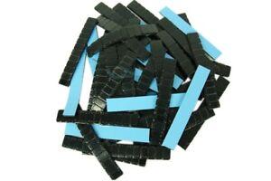 100 x Klebegewichte (12x5g) 6Kg ALU Felgen Kleberiegel Auswuchtgewichte SCHWARZ