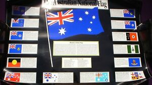 1-X-AUSTRALIAN-NATIONAL-FLAG-POSTER-75-X-55-CM-WITH-CERTIFICATES-SEE-PICS