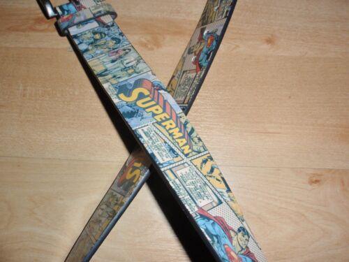 BNWT Primark DC COMICS SUPERMAN Da Uomo Ragazzi cintura-varie taglie