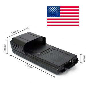 USA-UV-5R-or-plus-6XAA-Extended-two-way-radio-Battery-Case-Shell-for-Baofeng