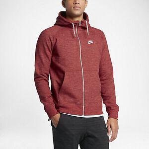 Nike Sportswear Legacy Men's Hoodies Dark Cayenne/Heather/Sail