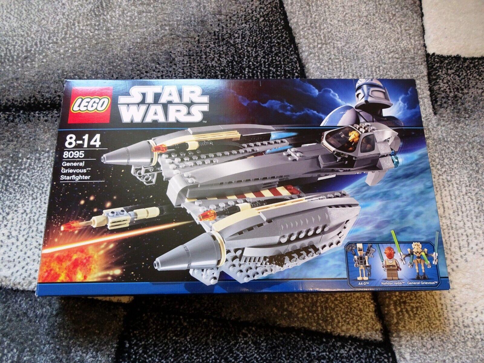 Lego - Star Wars - General Grievous SF (8095) - komplett - sehr guter Zustand