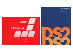 CRUMAR DS-2 Service Manual Schematic diagrams Schaltplan Schéma + Owner's DS2