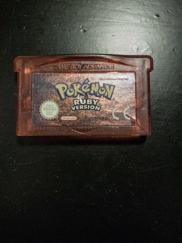 Pokemon Ruby, Gameboy Advance, rollespil