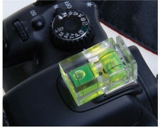 2 Axis Bubble Camera Spirit Level Gradienter Hot Shoe For Nikon Canon