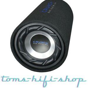 CRUNCH-GTS200-20cm-Auto-Gehaeuse-Tube-Subwoofer-Bassrolle-400-Watt-Bassbox-Roehre