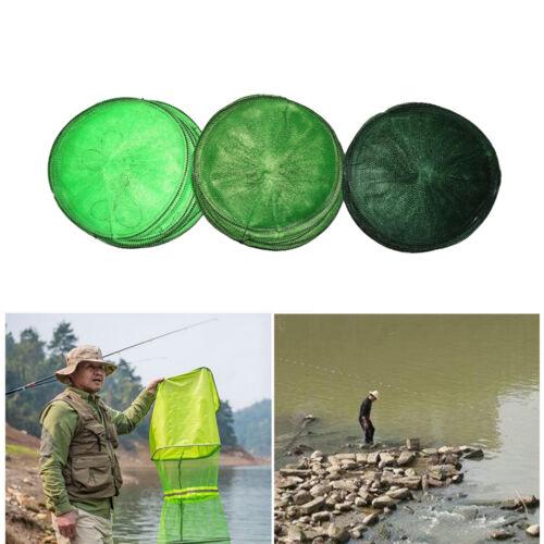 Foldable Fishing Bait Trap Cast Nets Cage Shrimp Crawdad Minnow Baske new TDCA