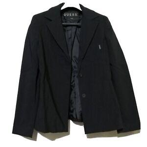 Guess-USA-Black-Blazer