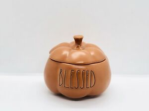 Rae-Dunn-Halloween-Thanksgiving-Fall-By-Magenta-BLESSED-Harvest-Pumpkin-Candle