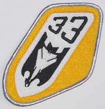 Luftwaffe Aufnäher Patch JaBoG 33 - TaktLwG 33 (Gelb) ........A2635