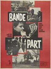 BAND OF OUTSIDERS Movie POSTER French 27x40 Jean Gabin Fernandel Marie Dubois