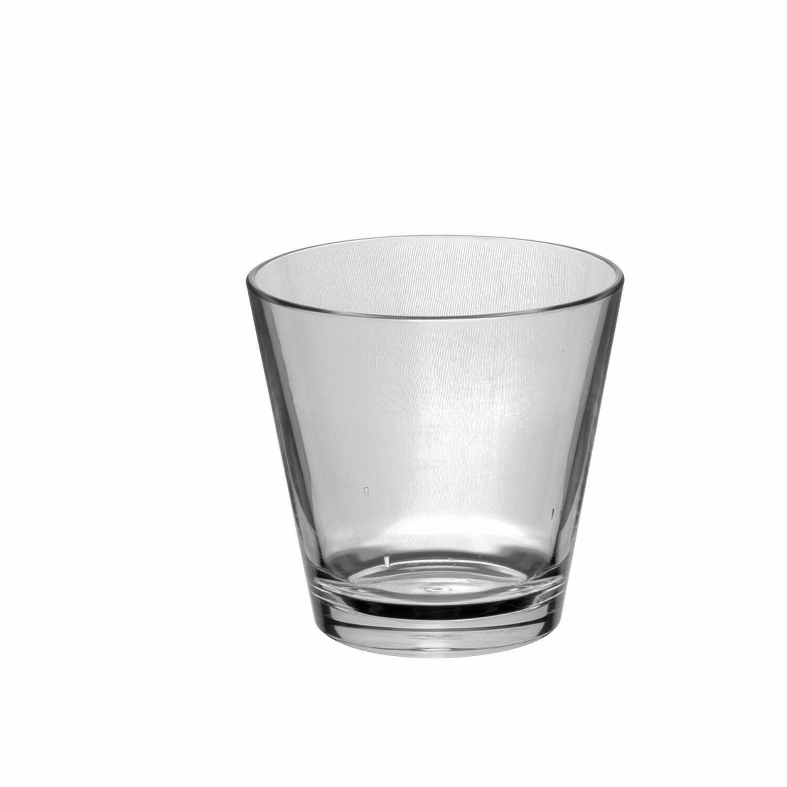 Set of Tao SUPER DELUXE Whisky Glass unbreakable, reusable, heavy weight(124gm)