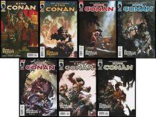 King Conan Hour of the Dragon Comic Set 1-2-3-4-5-6 Lot + Variant Giorello REH