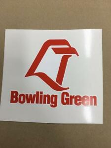 Bowling Green cornhole board or vehicle decal s BG1