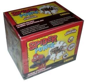 Spider Power Spider-Man Box 50 Packs Stickers Panini