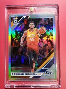 2019-20-Donruss-Optic-59-Donovan-Mitchell-Silver-Holo-Prizm-Refractor-NBA-Jazz