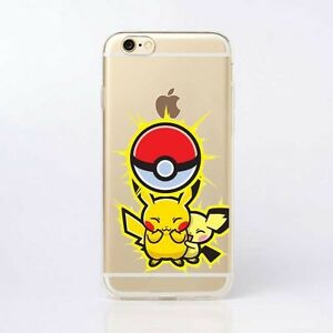 f707ce79d5 iPhone 6 & 6s Pokemon Go Pikachu Cute Cell Phone Case Soft ...