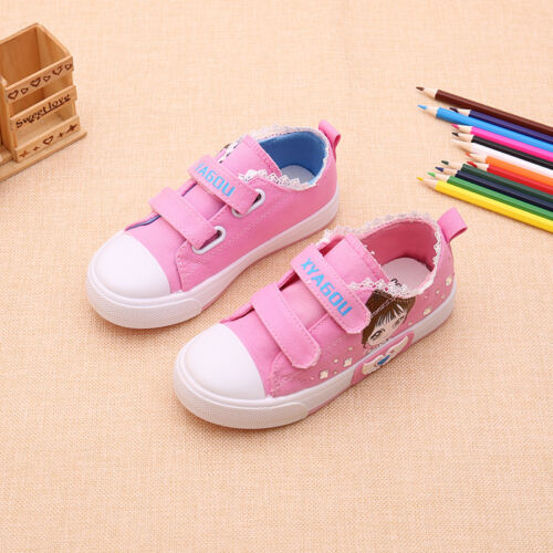 New Fashion Youth Boys Girls Canvas Shoes Children Kids Students Casual Sneakers