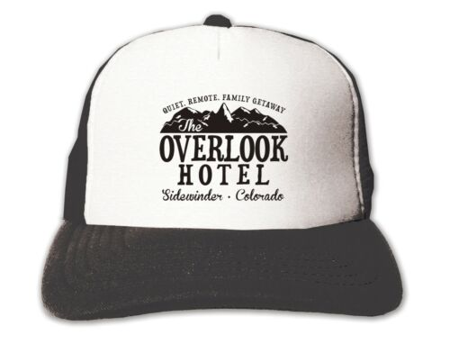 Overlook Hotel Shining TRUCKER SNAPBACK HAT-Vintage Rétro Cap-film movie