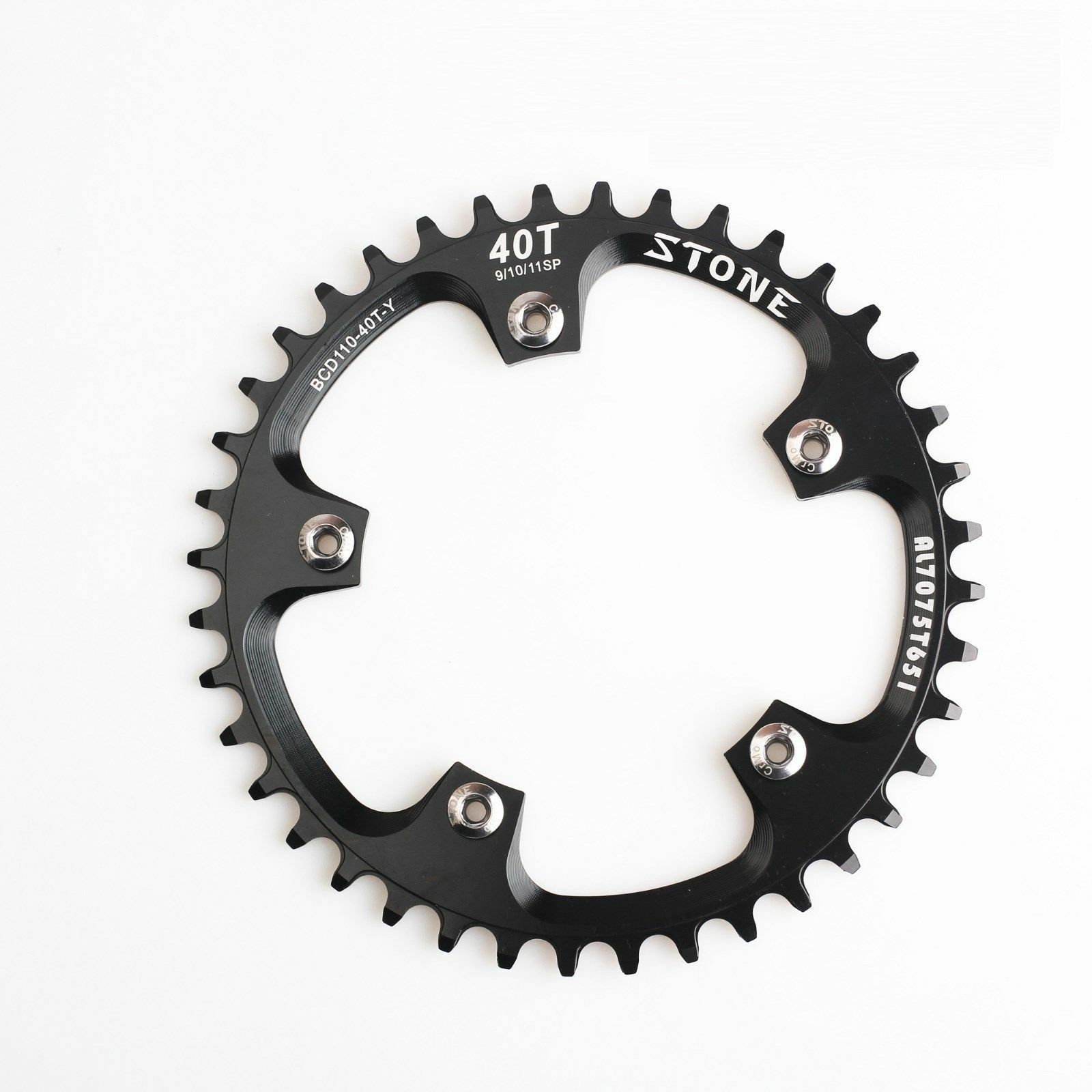 BCD110 Single Chainring 5 bolts Narrow Wide Circle 34T 36t 38t 40T Road bike