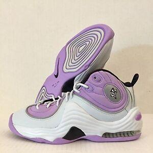 df0d4dca967e Nike Air Penny II 2 GS White Purple Platinum Lilac 820249-009 Retro ...