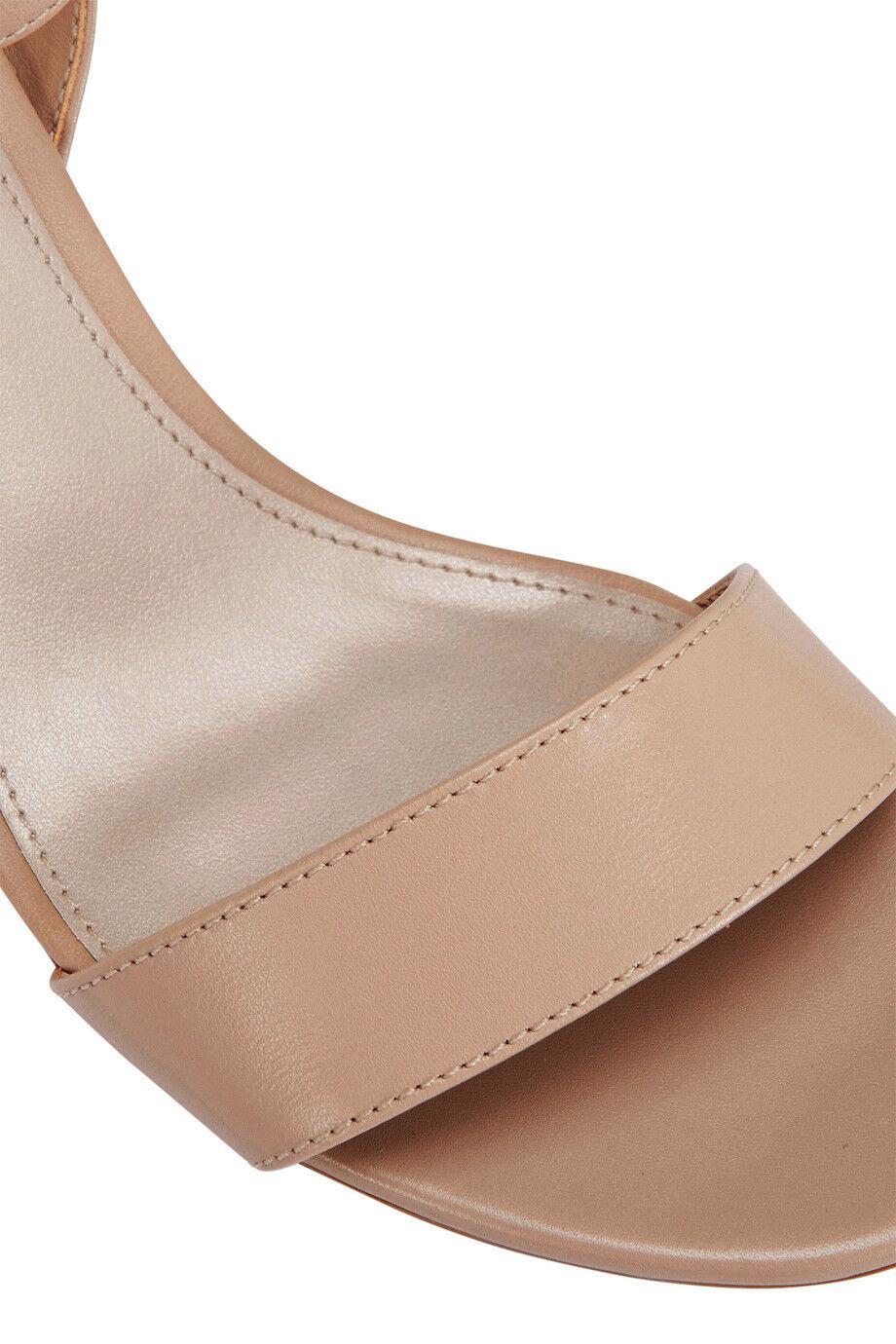 NEW Sandler Alpha Nude Glove Sandal Beige Beige Beige 742264