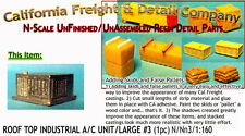 Rooftop Industrial A/C Unit #3-Large N/Nn3/1:160-Scale California Freight & Co