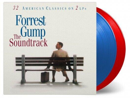 'FORREST GUMP' Soundtrack Ltd. Edition 180g BLUE/RED Vinyl 2LP NEW/SEALED