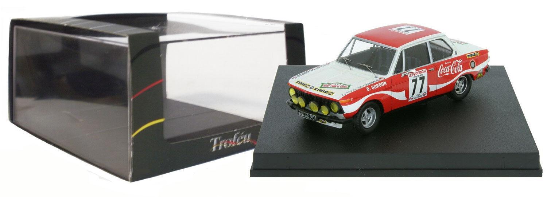 Trofeu 1727 BMW 2002 Tour de Corse 1974 - D Gordon 1 43 Scale