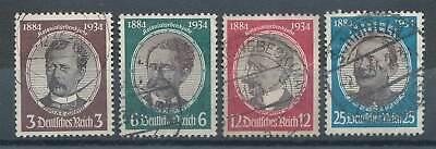 237311 Briefmarken Dr Nr.540-543 Gestempelt Kolonialforscher MöChten Sie Einheimische Chinesische Produkte Kaufen?