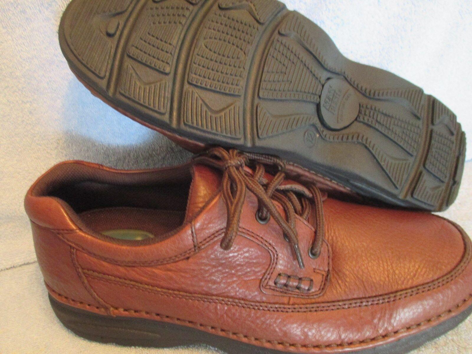 Uomo Schuhes NUNN BUSH BROWN Größe 12 M BROWN BUSH LEATHER OXFORDS NWOT 82daab