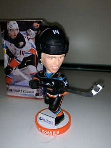 "AHL San Diego Gulls 14 Kalle Kossila Bobblehead 7"" Figurine Figure VGC BOXED"