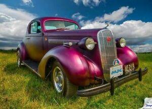 1936 Buick coupe resto rod