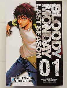 BLOODY MONDAY LAST SEASON - completa 4 numeri - Star Comics