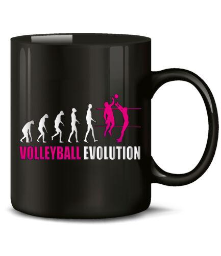 Volley-ball Evolution Tasse Gobelet cadeau d/'anniversaire vous l/'homme femme Accessoires