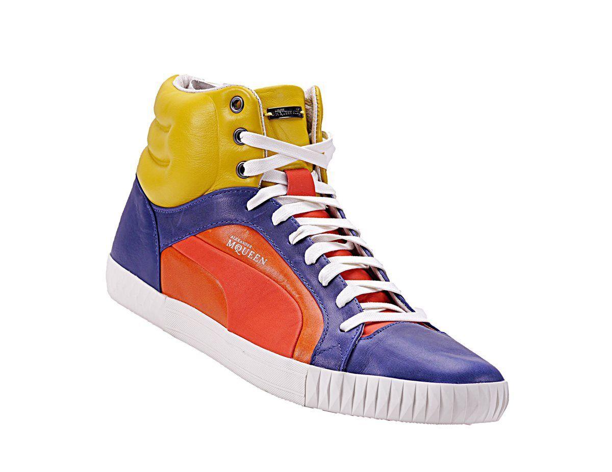PUMA AMQ Alexander McQueen Street Climb Mid L Sneaker Leder Gr.40 - 45 NEU