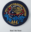 miniature 30 - Sew Iron On Round Patches Popular Badge Transfer Embroidered Funny Biker Slogan