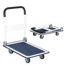 Lightweight Platform Cart Folding Dolly Push Hand Truck Moving Warehouse 330lbs