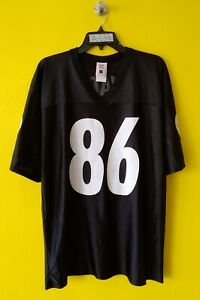 🏈 PITTSBURGH STEELERS #86 HINES WARD NFL REEBOK JERSEY MENS  - L