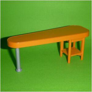 Playmobil-Ersatzteil-Bartheke-Kuechen-Theke-orange