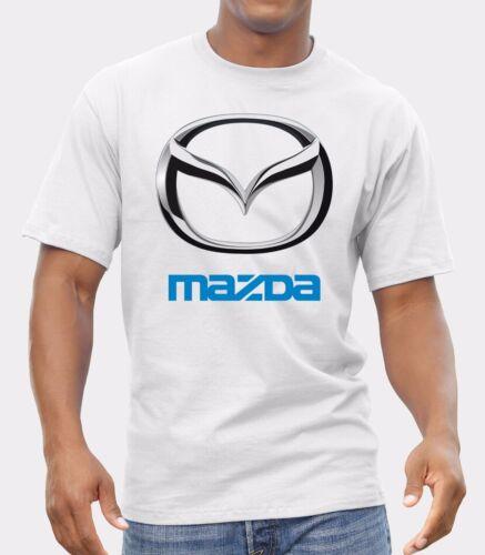 Mazda CARS Sedans SUVs LOGO NEW T-SHIRT FRUIT OF THE LOOM print by EPSON