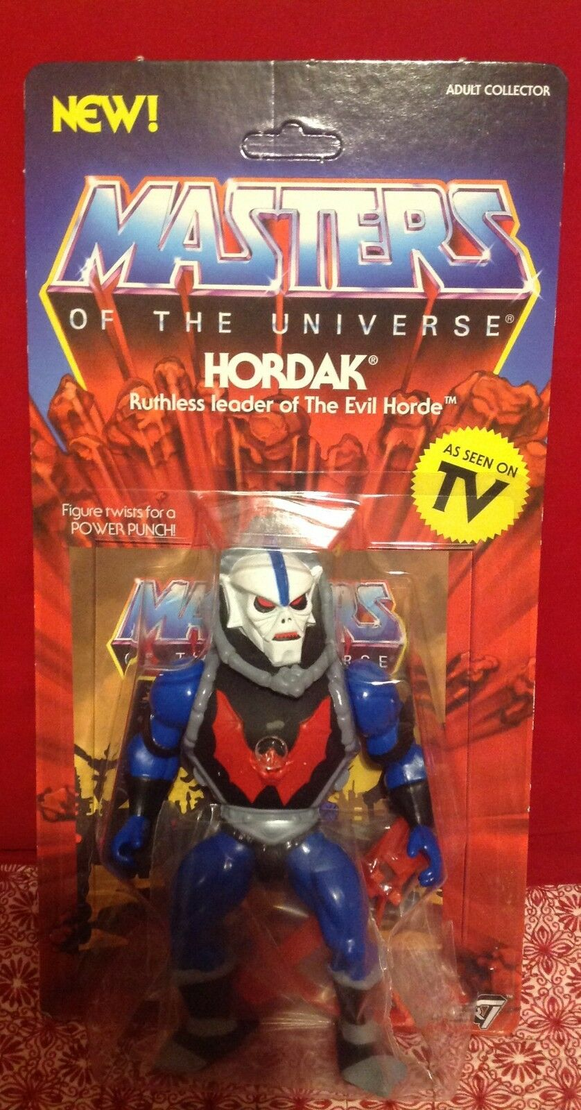 Masters of the Universe MOTU Adult Collector As Seen on TV Hordak Action Figure