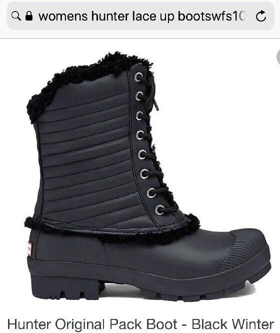 Hunter Womens Original Pack Boot Size 5