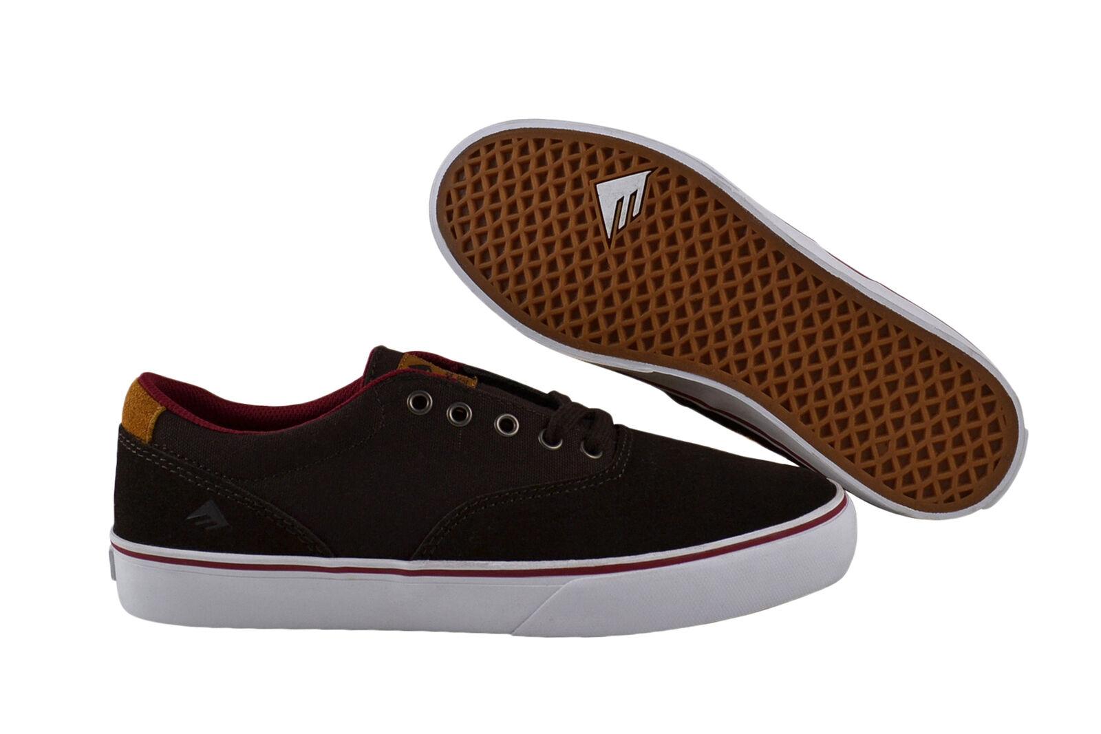 Emerica Provost Slim Vulc braun Weiß Turnschuhe Schuhe braun